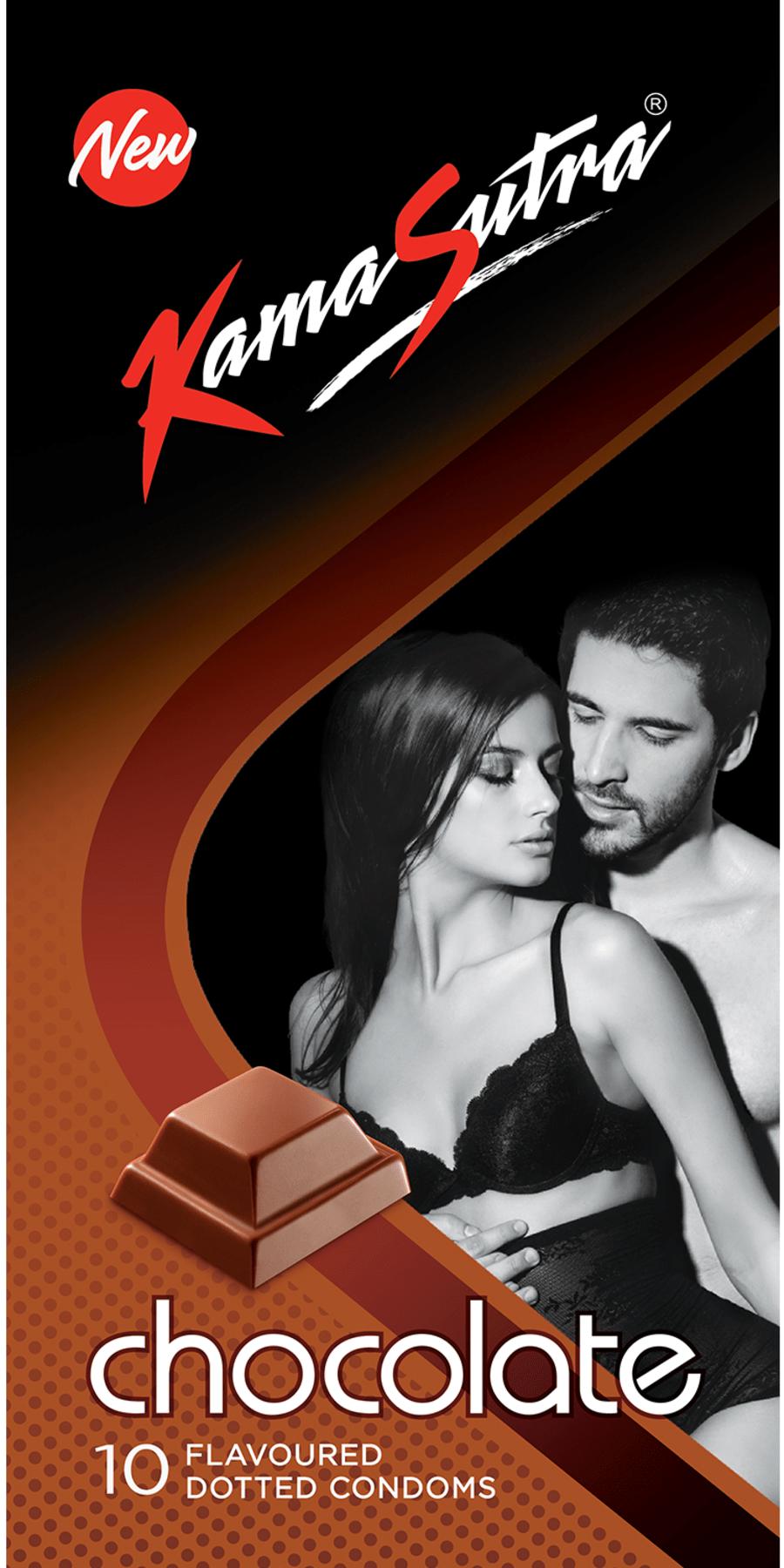 Kamasutra Excite Chocolate 10 Condoms
