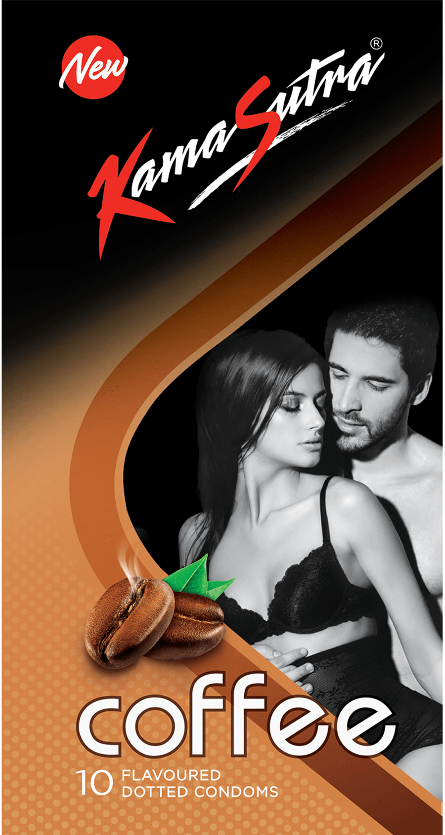 Kamasutra Excite Coffee Cappuccino 10 Condoms