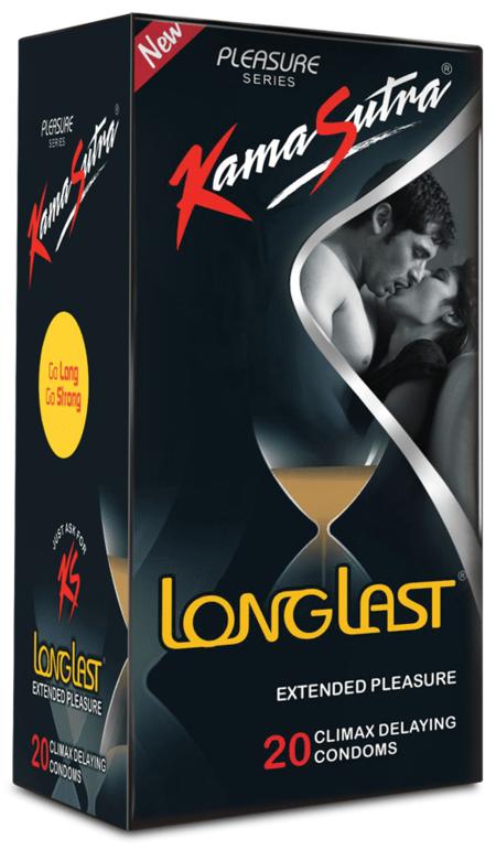 Kamasutra Longlast 20 Condoms