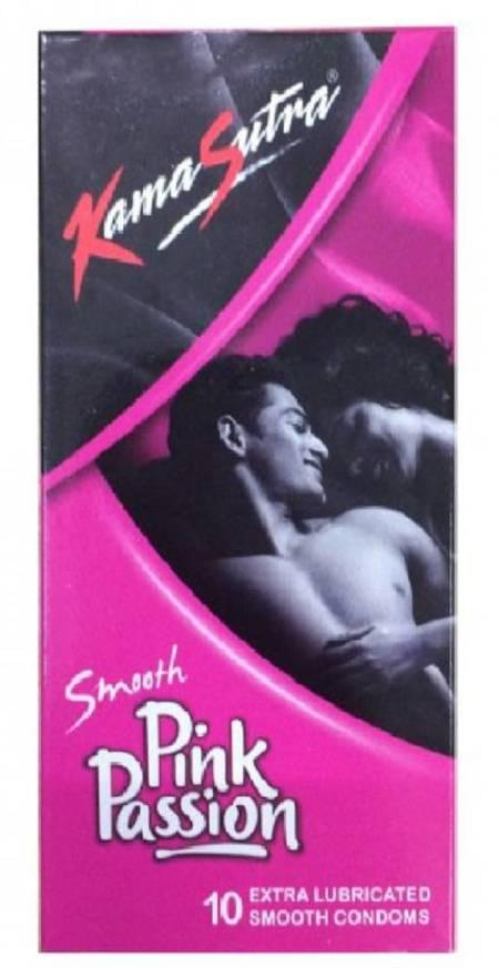 Kamasutra Smooth Pink Passion 10 Condoms