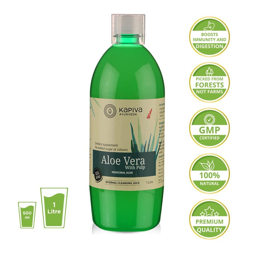 Kapiva Aloe Vera Juice - 1 L