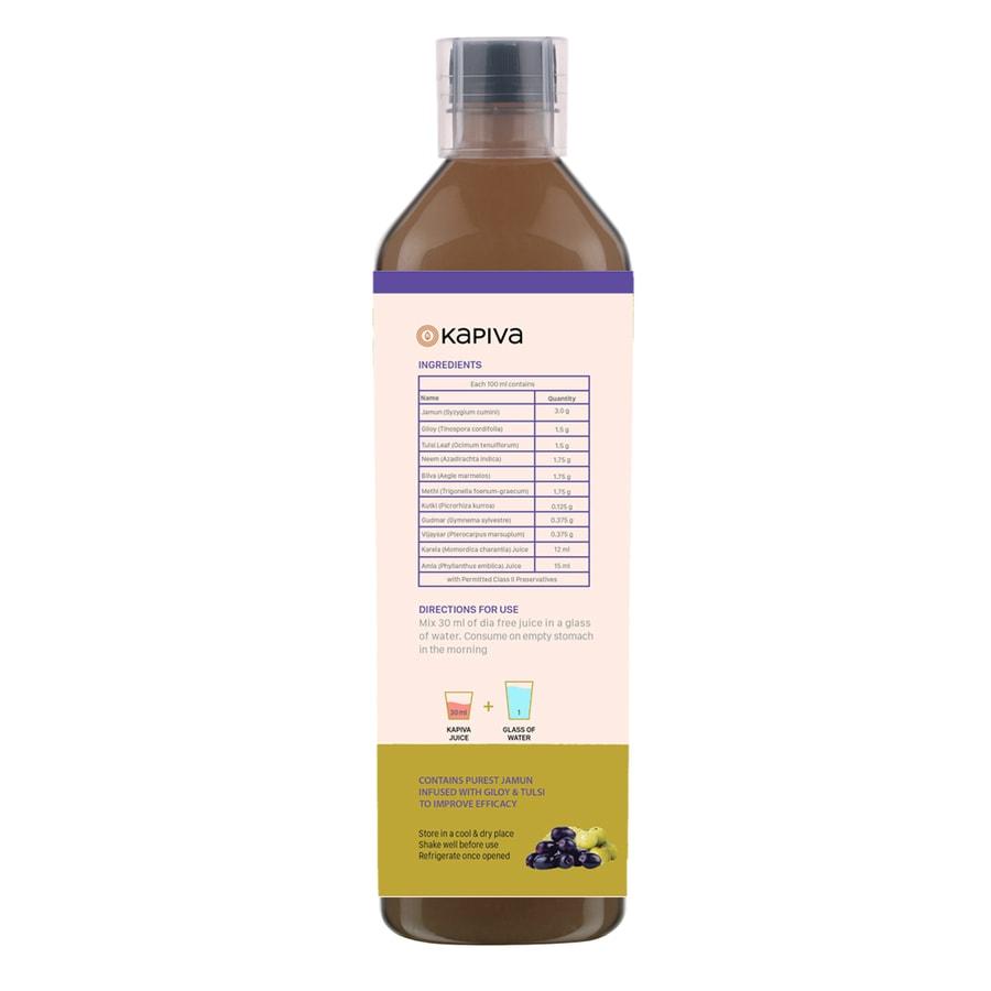 Kapiva Dia Free Juice - 1l