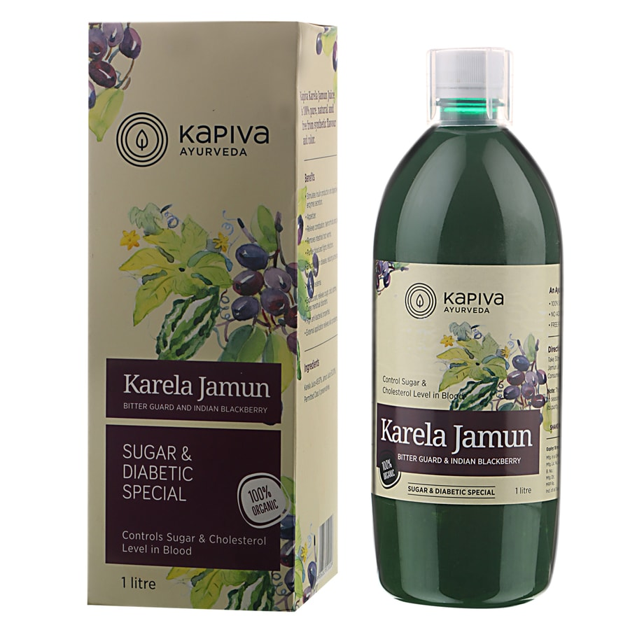 Kapiva Karela Jamun Juice - 1 L