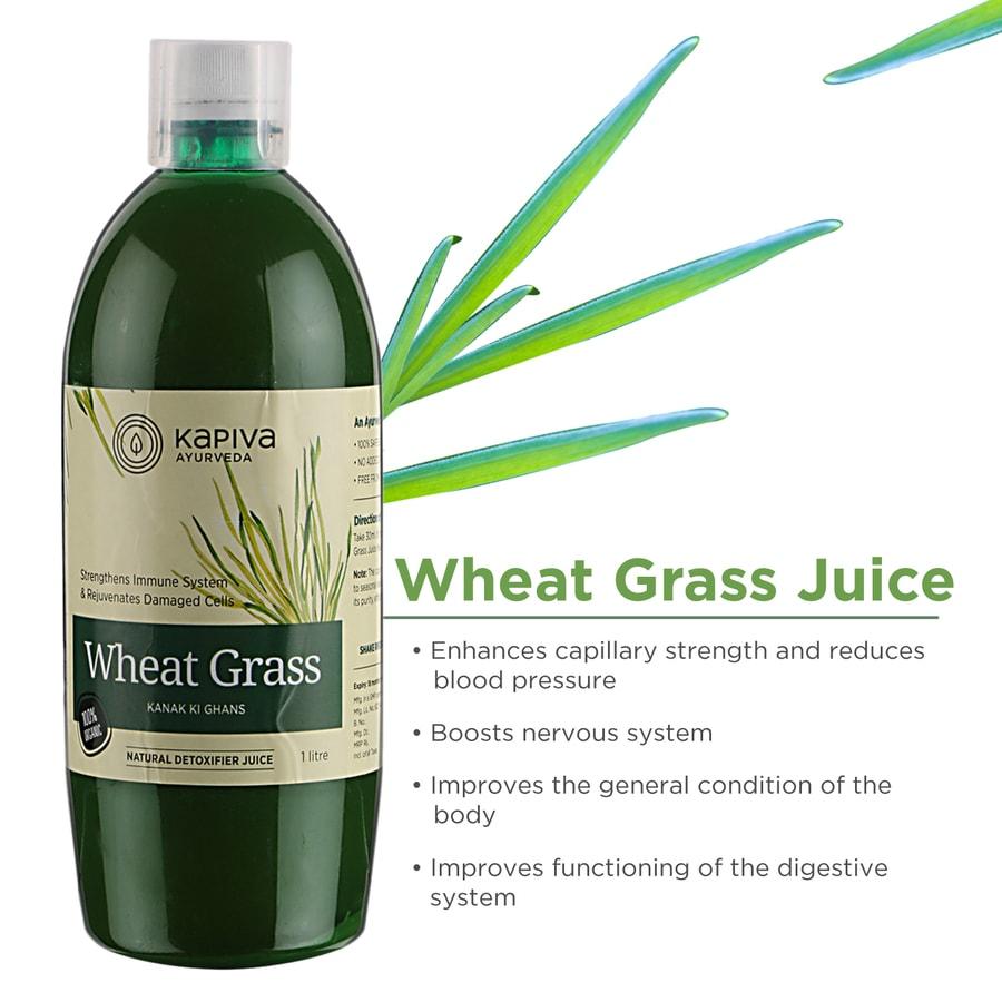 Kapiva Wheat Grass Juice - 1 L