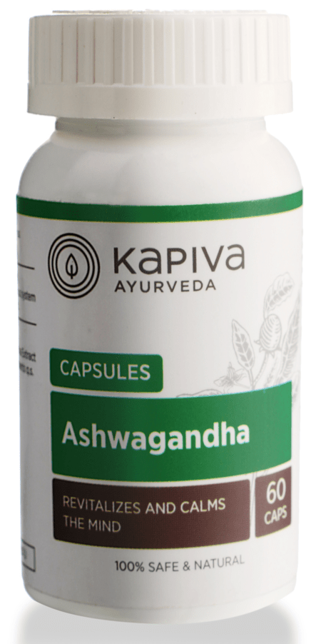 Kapiva Ashwagandha Capsules - 60caps