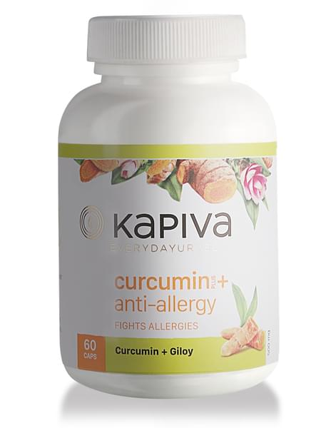 Kapiva Curcumin + Anti-allergy Capsules - 60caps
