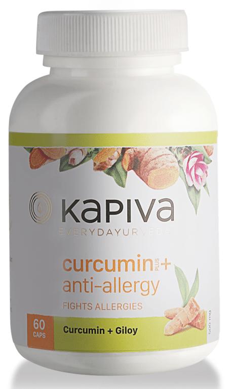 Kapiva Curcumin + Anti-allergy Capsules - 60caps