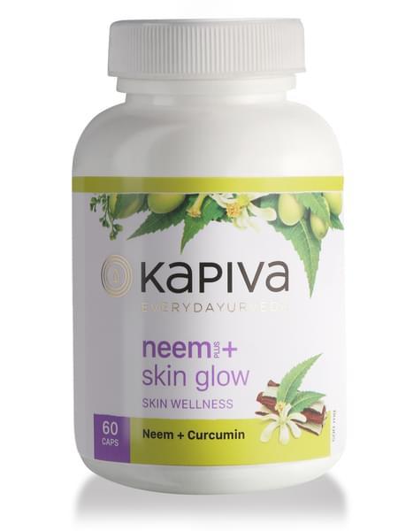Kapiva Neem + Skin Glow Capsules - 60caps