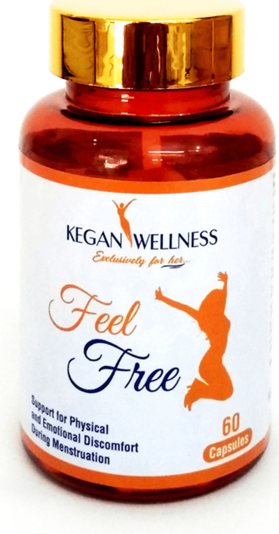 Kegan Wellness Feelfree-multivitamin & Pms Relief Supplements 60's