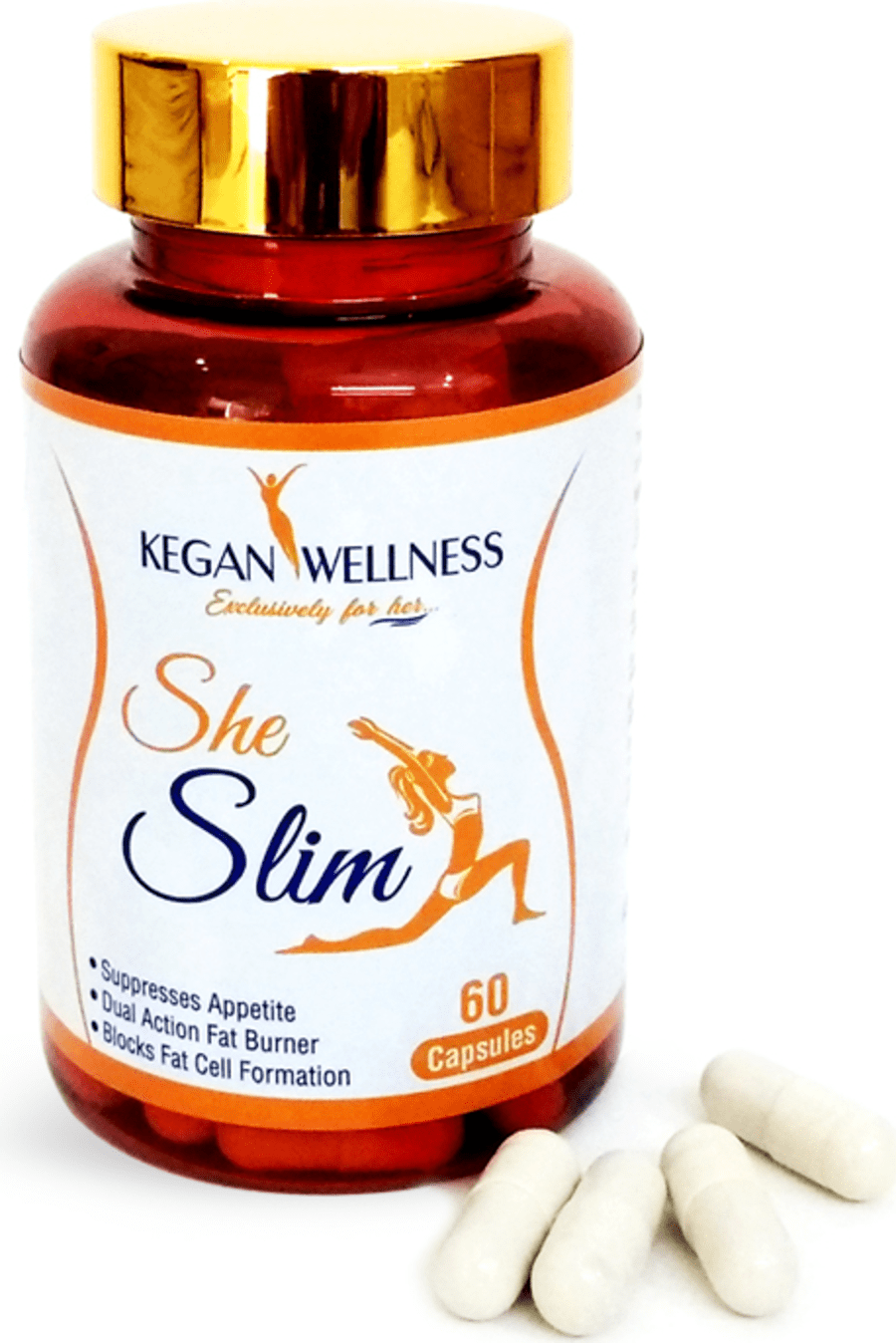 Kegan Wellness Sheslim-slimming Supplements 60's