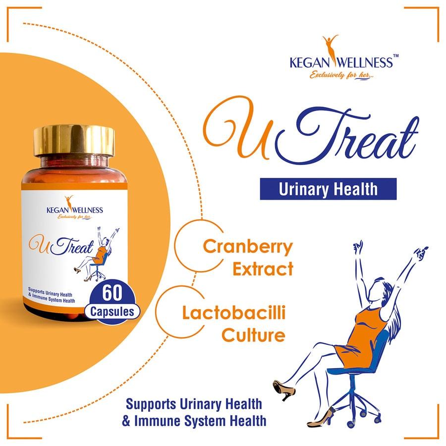Kegan Wellness Utreat-urinary Health Supplements 60's