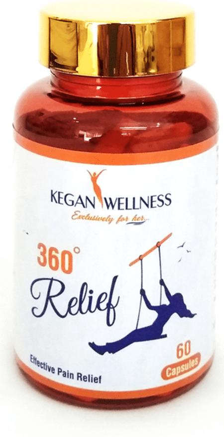 Kegan Wellness 360relief-pain Relief Supplements 60's