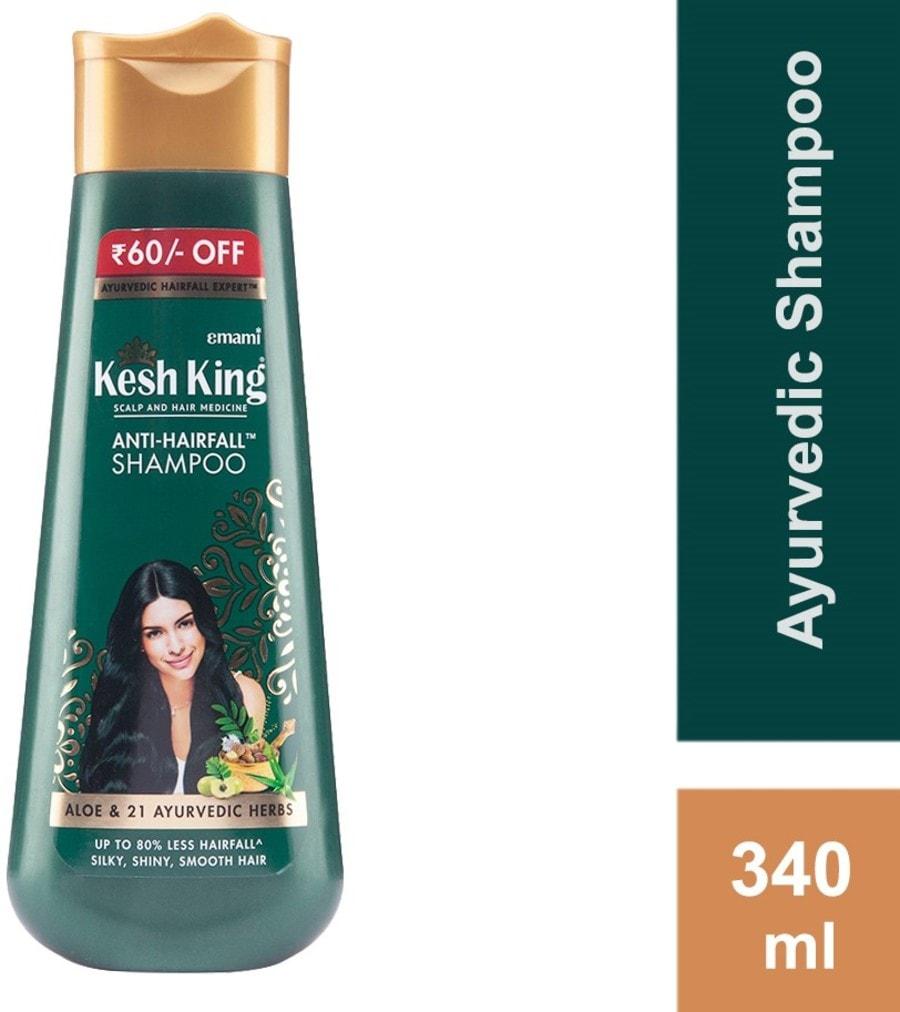 Kesh King Scalp And Hair Medicine Anti-hairfall Shampoo - 340ml