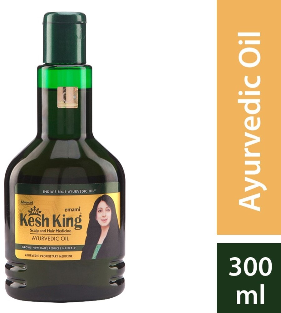 Kesh King Ayurvedic Scalp And Hair Medicinal Oil - 300ml