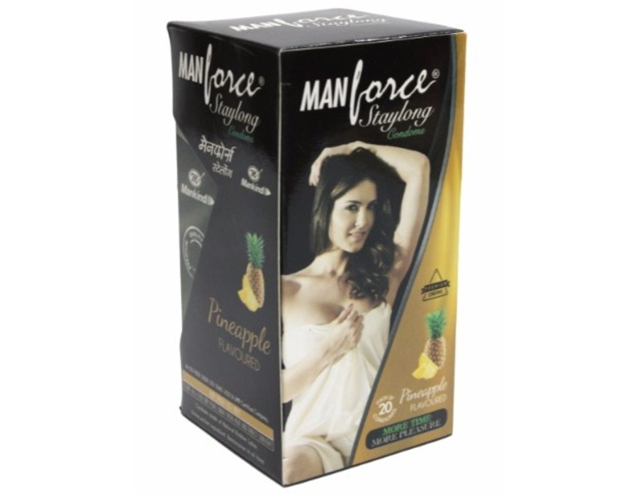 Manforce Staylong Pineapple Flavoured Condoms Pack Of 20