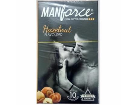 Manforce Hazelnut Flavoured Condoms Pack Of 10