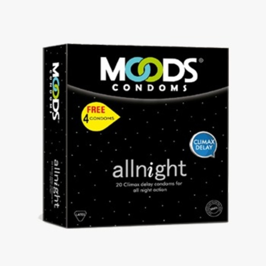 Moods Allnight Box Of 20 Condoms