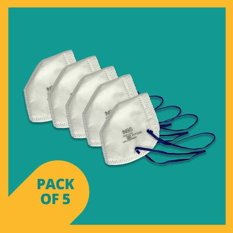 N95 Mask (magnum) - Pack Of 5