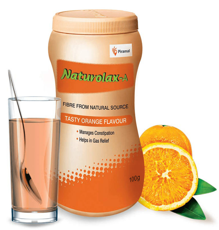 Naturolax A Tasty Orange - 100gm | Natural Relief From Constipation