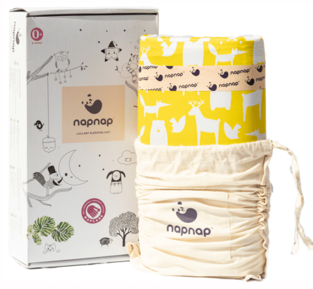 Napnap Portable Soothing Mat For New-borns And New Moms.- Ello Yellow