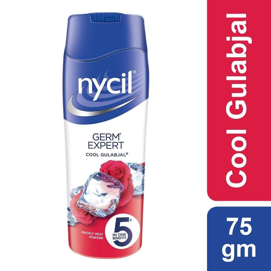 Nycil Cool Gulabjal Prickly Heat Talcum Powder - 75gm