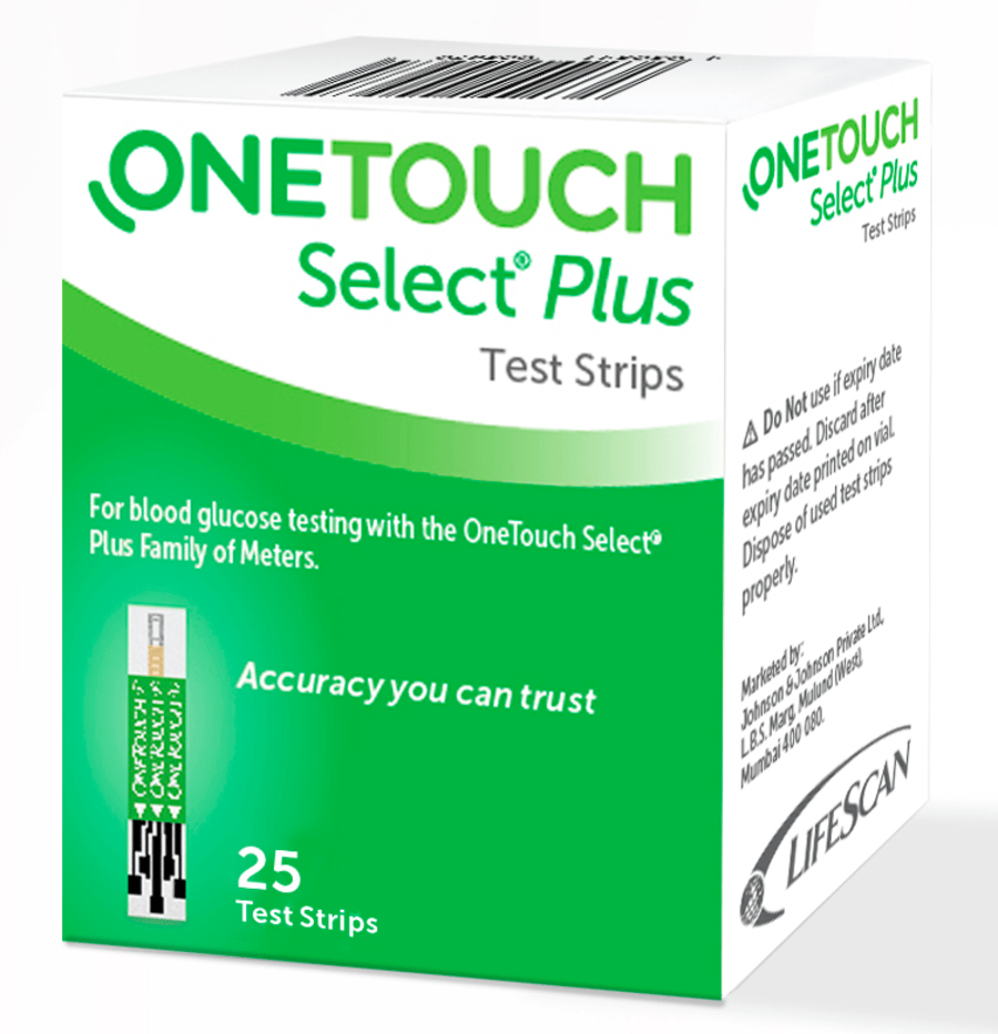 Onetouch Select Plus Simple - 25 Strips