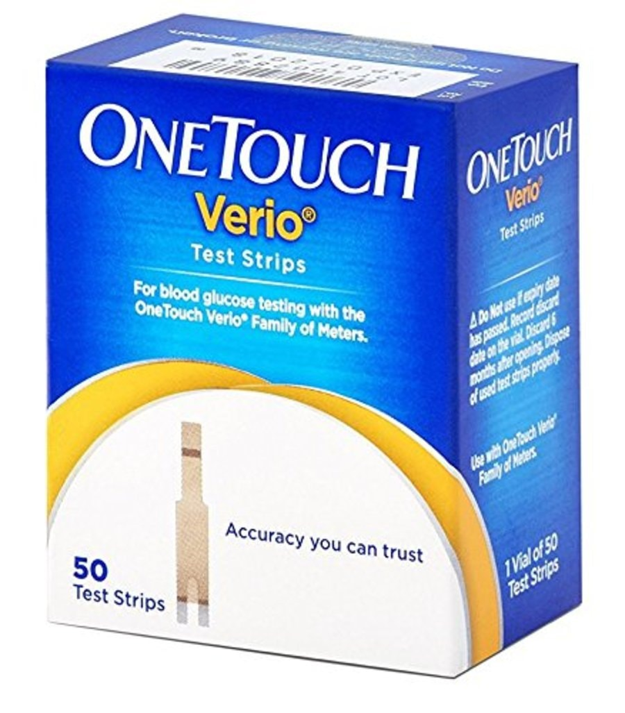 One Touch Verio Strips 50`s