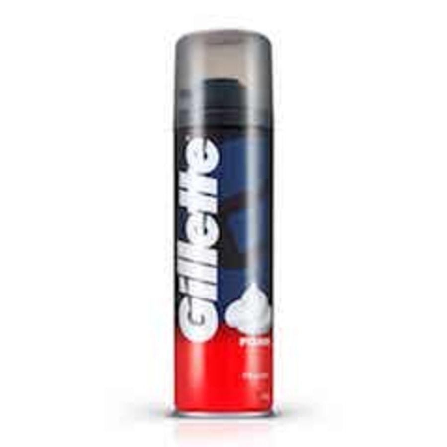 Gillette Pre Shave Foam Classic Regular 196 Gm