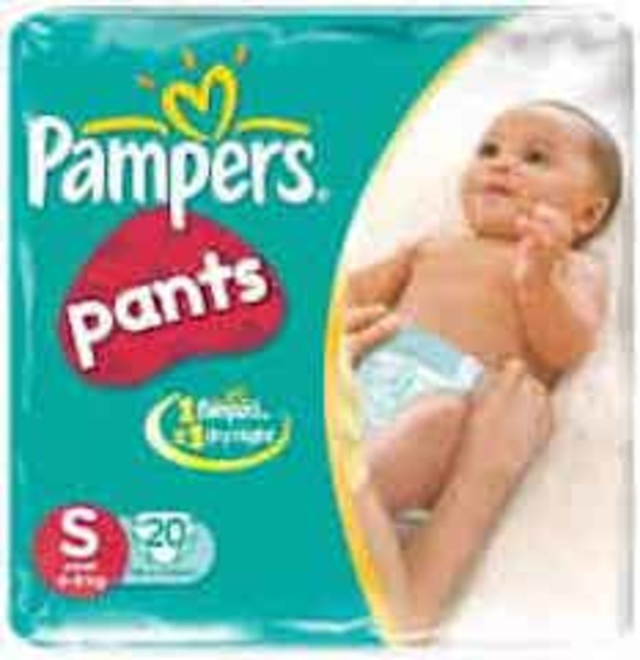 Pampers Pants Diapers Small Size 4's