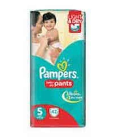Pampers Diaper Pants Small Size 42 Pieces