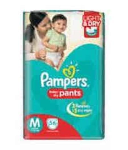 Pampers Diaper Pants Medium Size 56 Pieces
