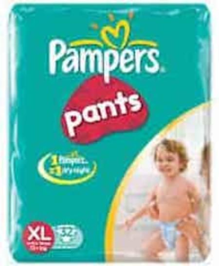 Pampers Diaper Pants Large Size 32 Pieces