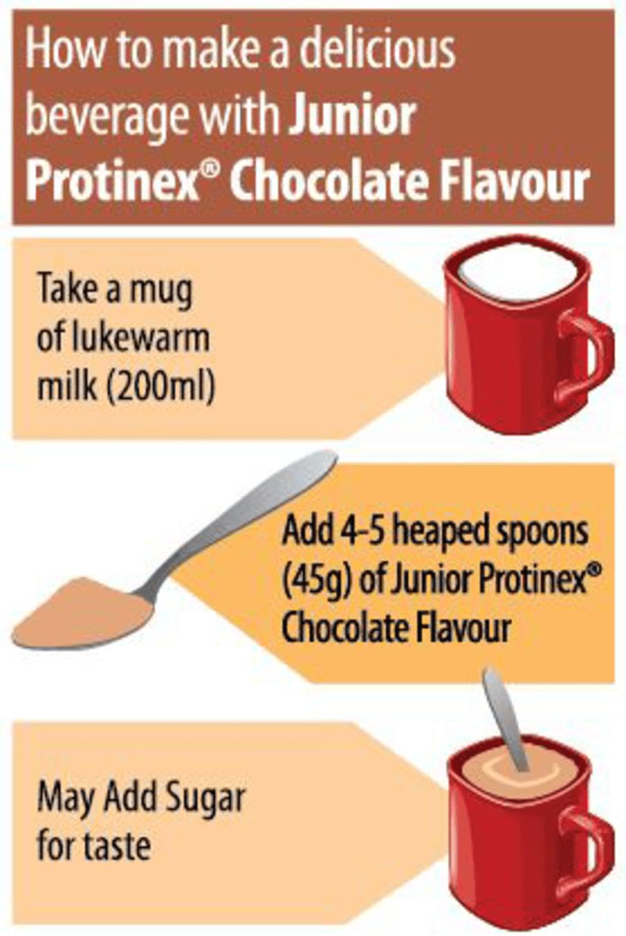 Protinex Junior Chocolate - 400gm Tin