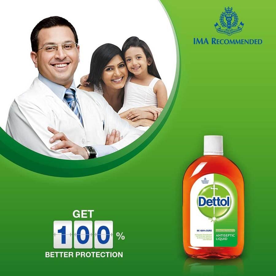 Dettol Antiseptic Liquid- 1l