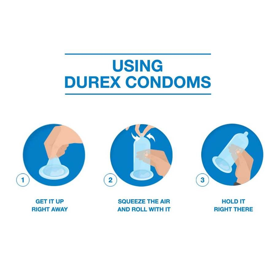 Durex Condoms, Extra Ribbed- 10 Pieces