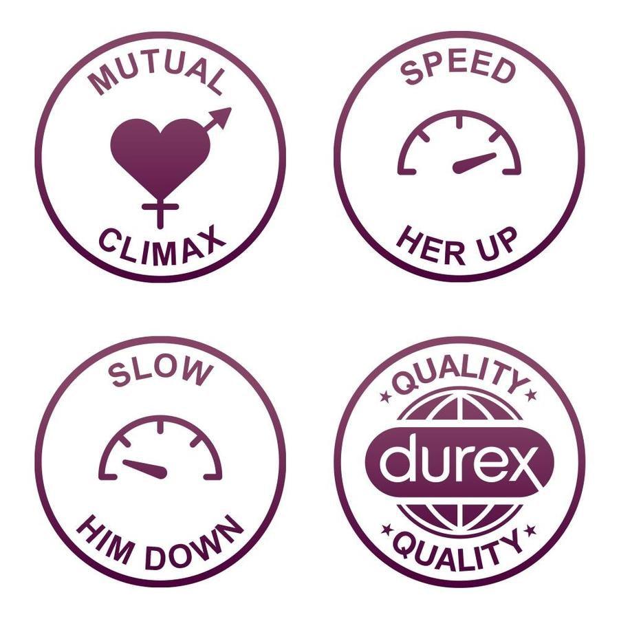 Durex Mutual Climax Condoms - 10 Pieces