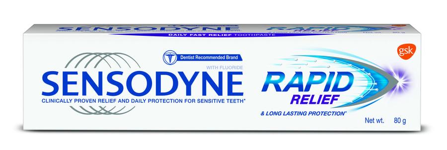 Sensodyne Sensitive Toothpaste Rapid Relief - 80gm