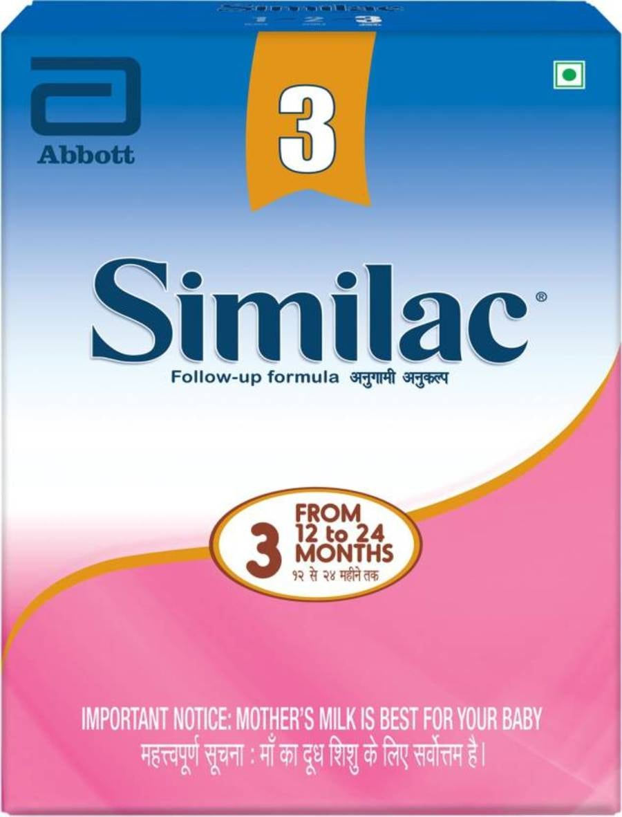 Similac Stage 3 Follow-up Infant Formula (from 12 - 24 Months) Refill - 400gm
