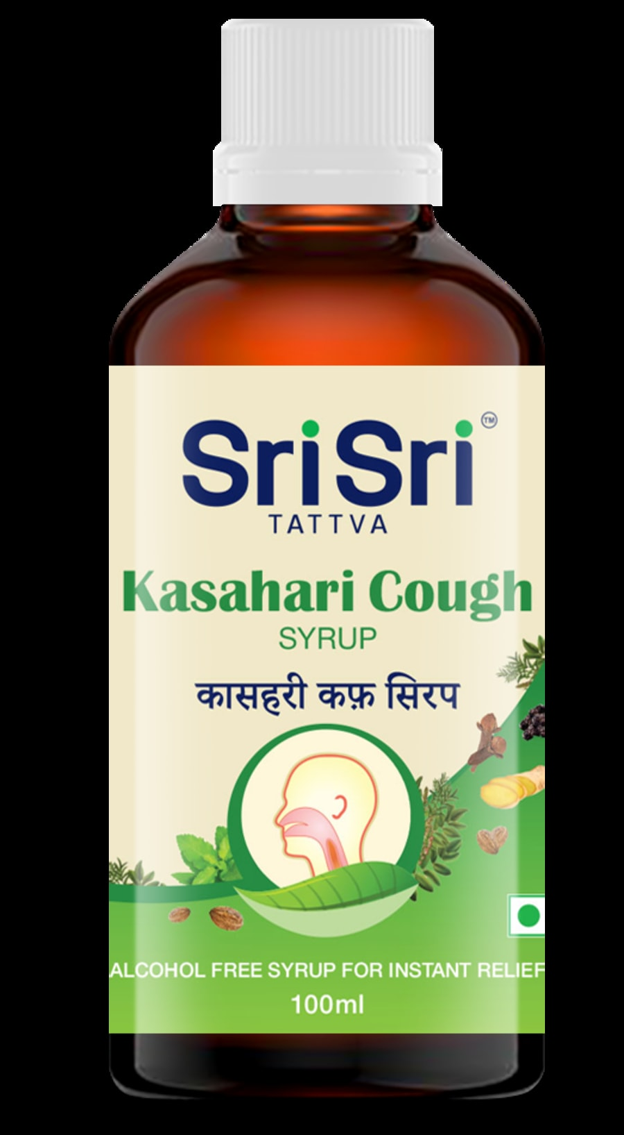 Sri Sri Tattva Kasahari Cough Syrup, 100ml