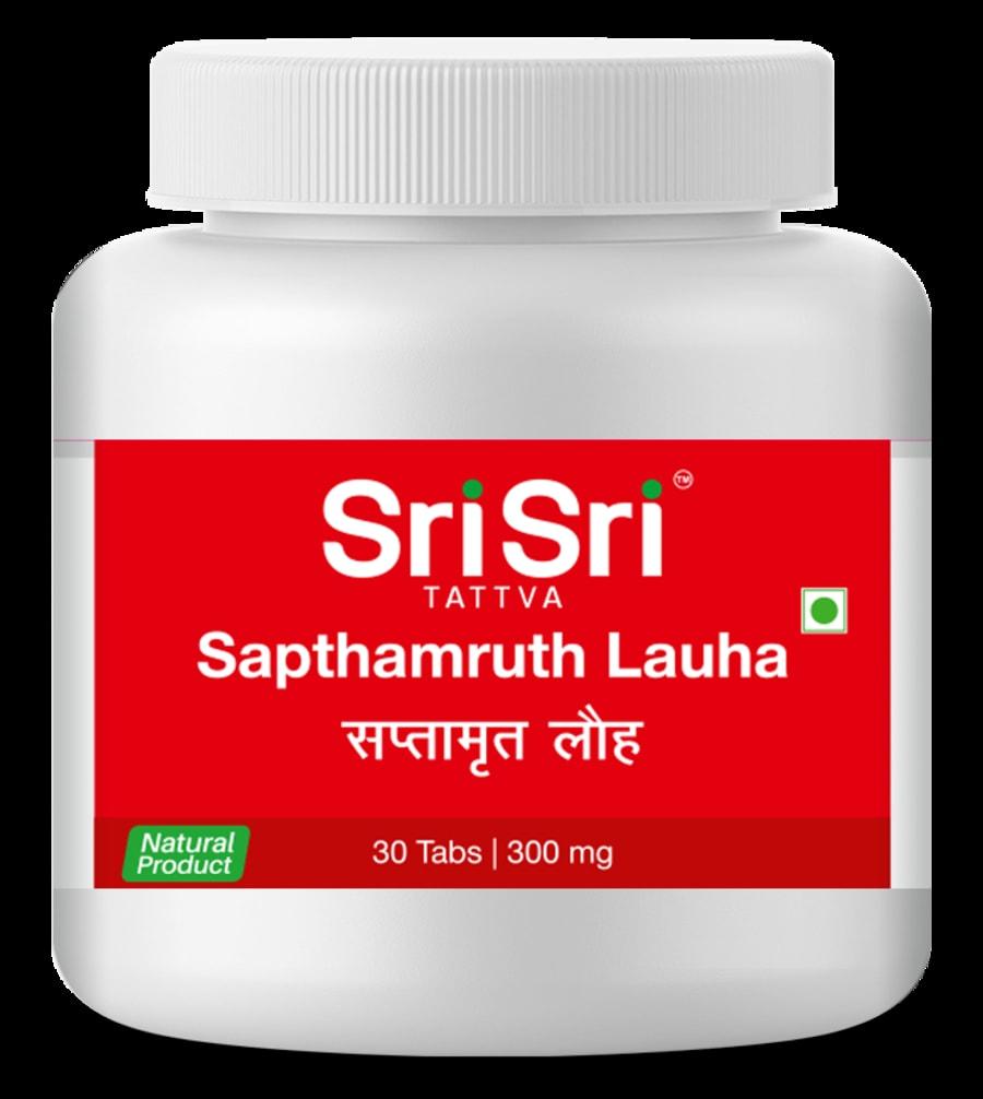 Sri Sri Tattva Sapthamruth Lauha , 30tab