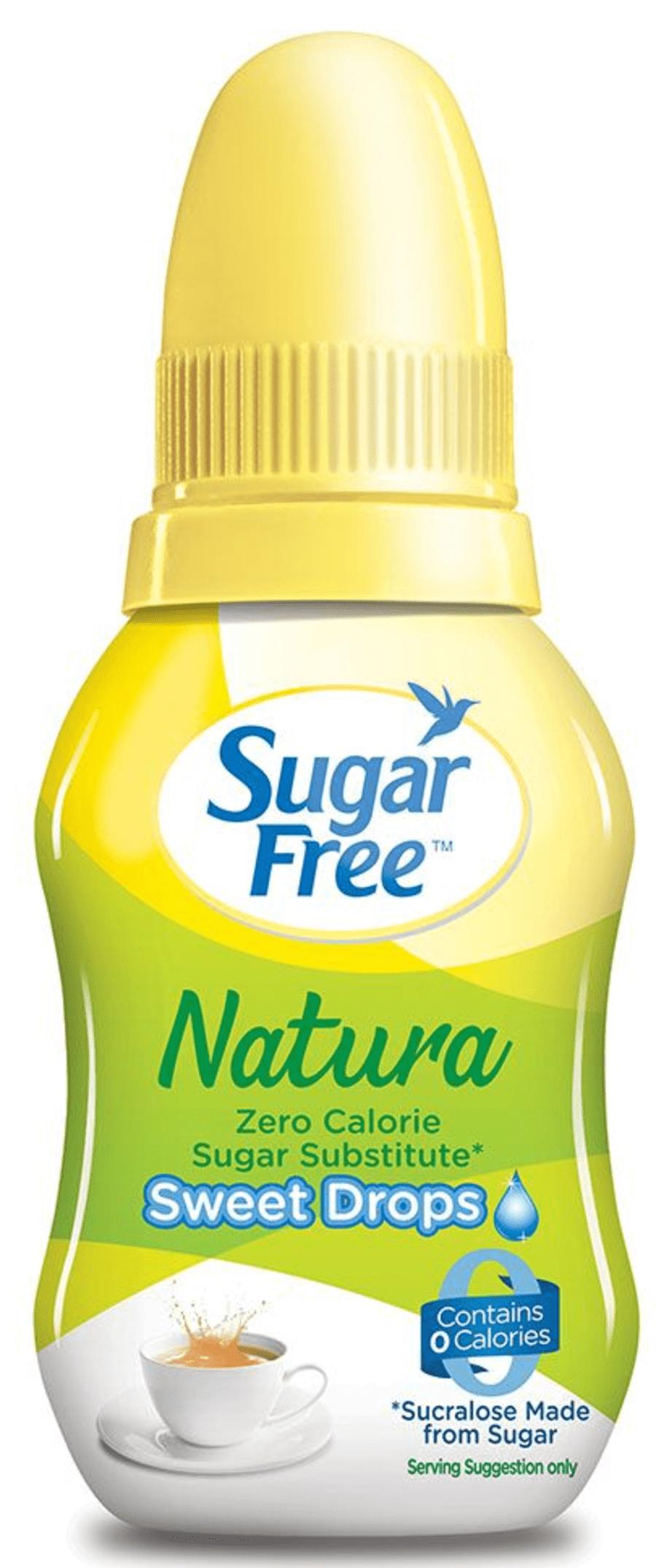 Sugar Free Natura 10ml Sweet Drops - Zero Calorie Sweetener& Sugar Substitute