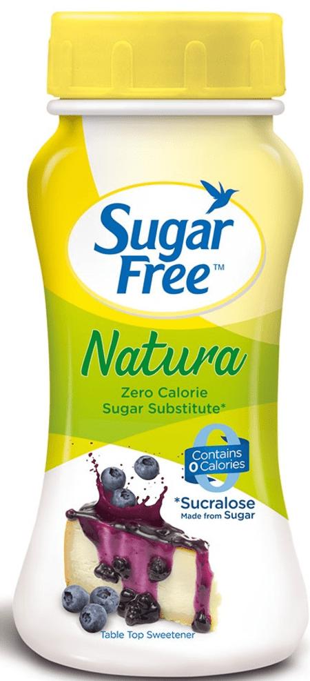 Sugar Free Natura 100gm Powder - Zero Calorie Sweetener & Sugar Substitute For Cooking