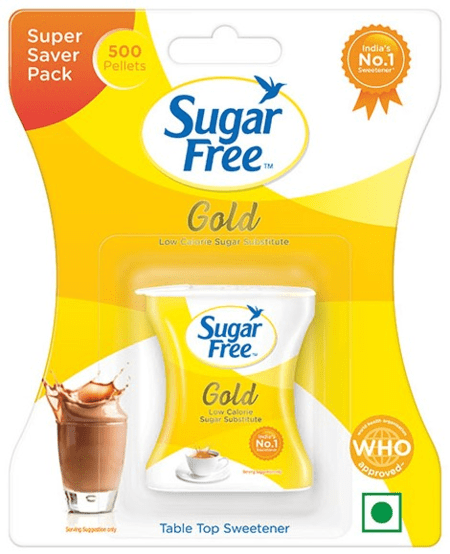 Sugar Free Gold 500 Pellets - Low Calorie Sweetener & Sugar Substitute