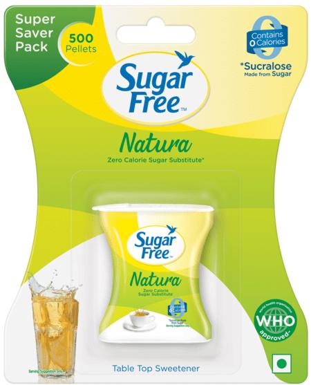 Sugar Free Natura 500 Pellets - Zero Calorie Sweetener& Sugar Substitute