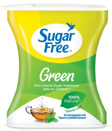 Sugar Free Green 100 Pellets-made From Stevia 100% Natural Sweetener & Sugar Substitute