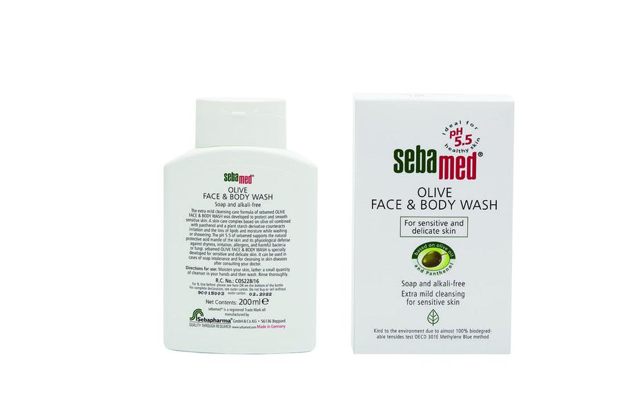 Sebamed Olive Face & Body Wash 200ml