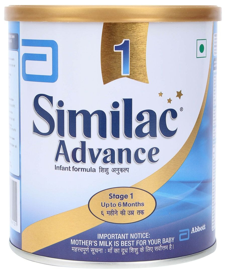 Similac Advance Stage 1 Infant Formula (upto 6 Months) Tin - 400gm
