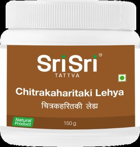 Sri Sri Tattva Chitrakaharitaki Lehya, 150gm