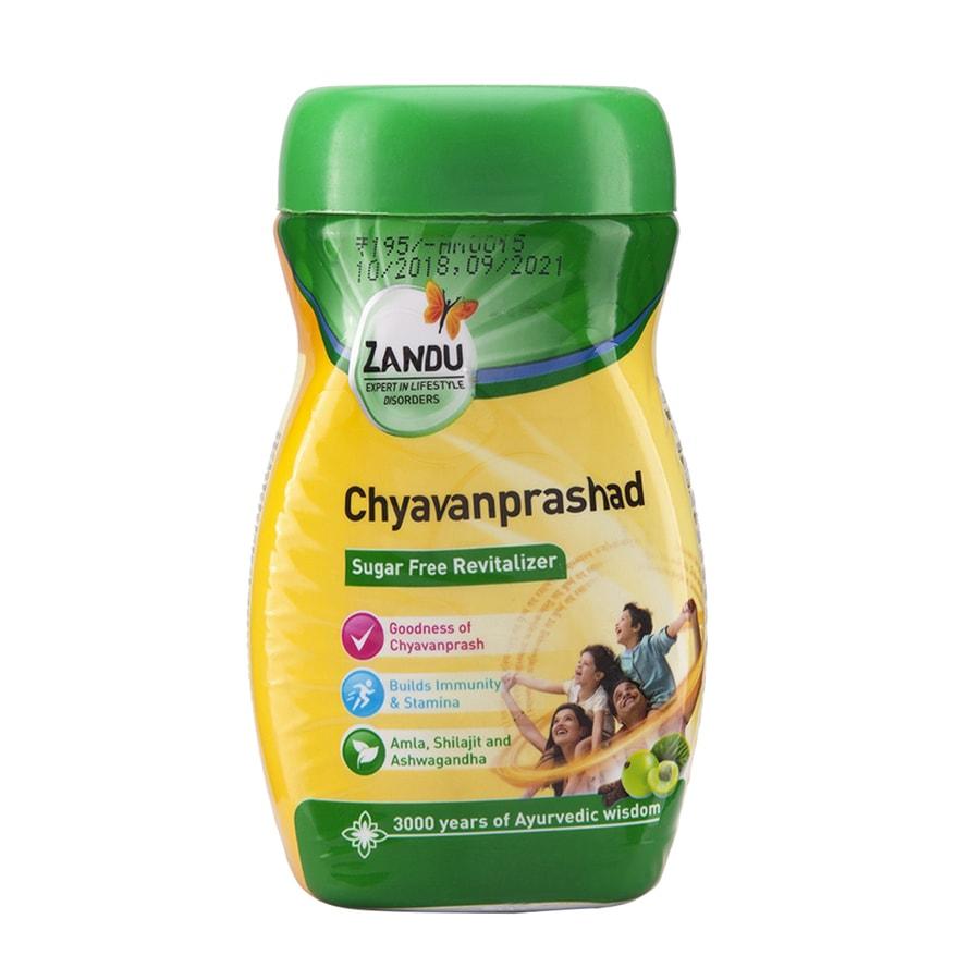 Zandu Chyavanprashad Sugar Free Revitalizer - 450gm