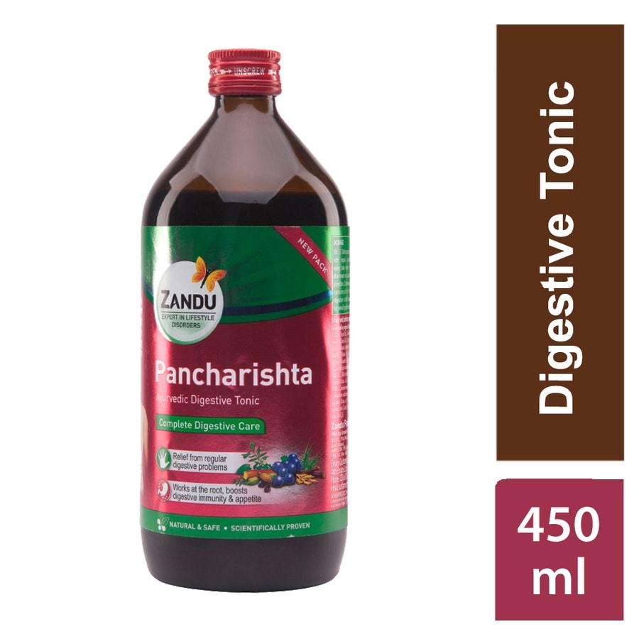 Zandu Pancharishta Digestive Tonic - 450ml